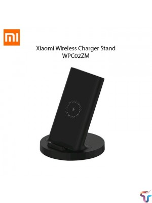 XIAOMI MI WIRELESS CHARGER STAND QI 20W QUICK CHARGE TYPE C WPC02ZM