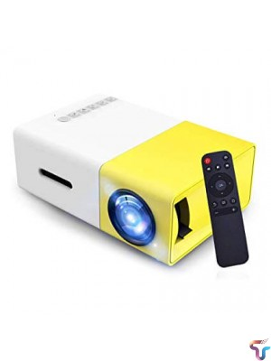 YG300 Full HD 1080P Mini Portable Home Theater Cinema LED Projector For Video Media Player