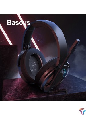 BASEUS GAMO D05 Surround Sound 3D PC Gaming Headphone Wired Headset with Mic