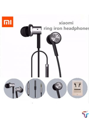 Xiaomi Hybrid Pro Dual Drivers Wired Control Earphone Headphone With Mic - Silver