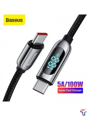 Baseus Type-C To Type-C 100W Display Fast Charging Data Cable -2m