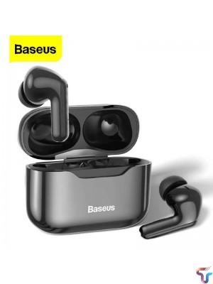 Baseus S1 TWS Wireless Earphones Headphones ANC Active Noise Cancellation Stereo Touch Bluetooth Earphone Earbuds