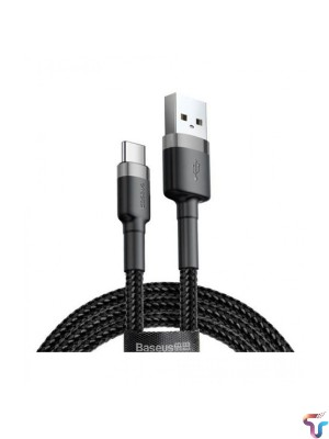 Baseus Cafule Cable Durable USB / USB-C cable with nylon braid Fast and safe charging Cable