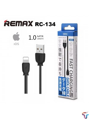 Remax  Rc 134i 2.4A Fast Charging USB data Sync Cable for iPhone