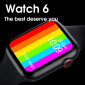 IWO W26 Smart Watch Infinity Display Support Bluetooth Call 1.75 Inch Curved Screen ECG thermometer Smartwatch Watch 6