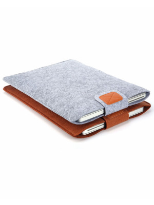 13 Inch Premium Soft Macbook Sleeve For Air/Pro/Retina And Touch - Silver