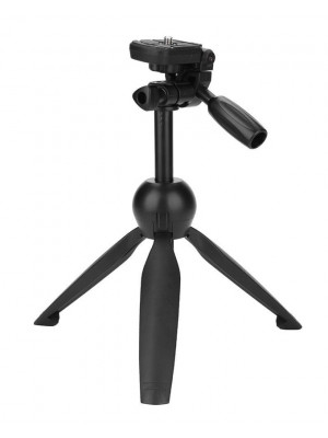 Yunteng VCT-2280 Multi-function Mini Tabletop Tripod - Black
