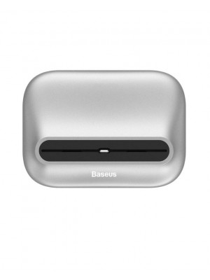 Baseus 8 Pin Charging Docking Station Holder For iPhone - Silver