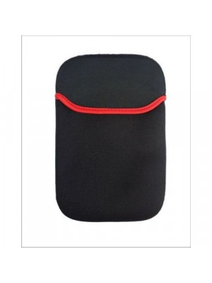 13 Inch - Laptop Red Line Sleeves - Black