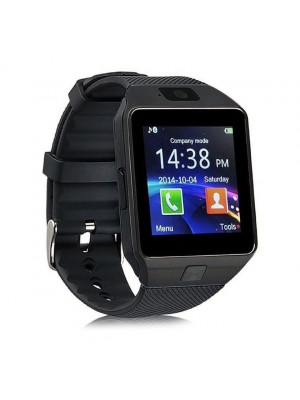 Android Smart Watch Black Dz09 With Gsm Slot Bluetooth For Ios And Android