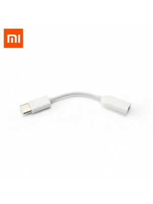 Original Mi USB Type C To 3.5mm Headphone Jack Adapter Aux Audio Converter Cable