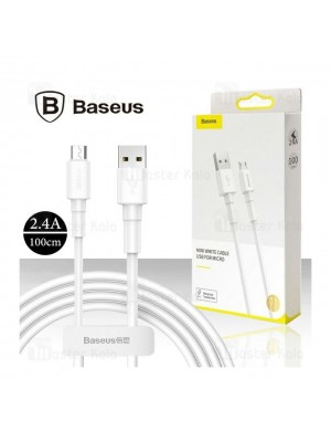 Baseus CAMSW-D02 Mini White Cable USB For Micro 4A 1m White