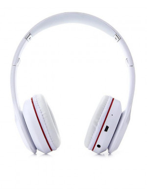 S460 Wireless Bluetooth Headphone - White