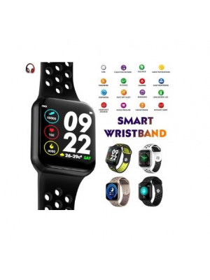 F8 1.3 Inch Full Touch Screen Smart Watch IP67 Waterproof Heart Rate Monitor Smartwatch For Android IOS Bluetooth SmartWatch
