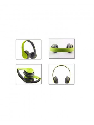 P47 Active Collection Bluetooth Foldable Headphone - Green