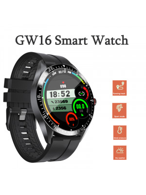 GW16 Smart Watch Heart Rate Blood Pressure Oxygen Monitor IP68 Sports Mode Weather Display