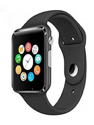 Apple Style W08 Bluetooth Smart Watch With GSM & TF Card Slot – Black