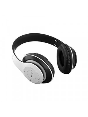 P15 - Wireless Bluetooth Over The Ear Super Bass Stereo Headphone - White