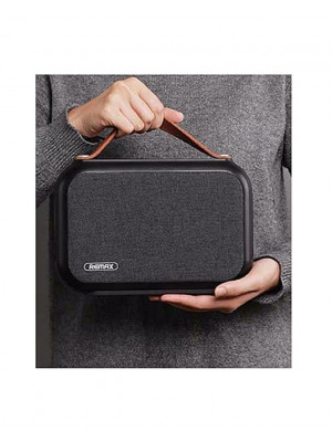 Remax RB-M17 Wireless Bluetooth Fabric Speaker - Black