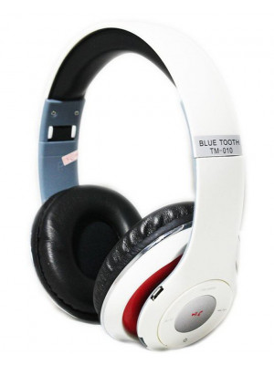 Tm-010 Bluetooth Wireless Studio Headphone - White