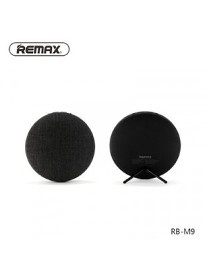 Remax RB-M9 Canvas Fabric Hi-Fi Stereo Bluetooth Speaker - Black