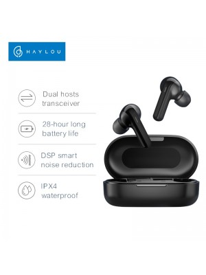 Haylou GT3 TWS Bluetooth Earbuds with in-ear, 28H battery life, IPX4 waterproof