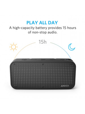 Original Anker A3181 SoundCore Shock-resistant Waterproof Bluetooth Speaker