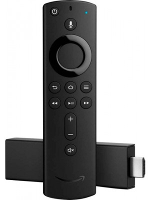 Amazon Alexa Voice Remote (2nd Gen) with Power and Volume Controls - Requires Compatible Fire TV Device