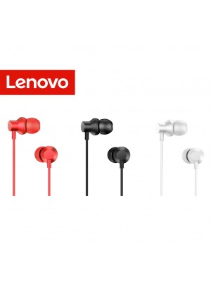 Lenovo HF130 3.5mm Earphones Wired Headset Microphone