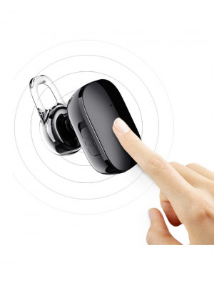 Baseus - NGA02 Encok Mini Wireless Finger Touch Earphone - Black