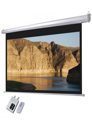 Projector Screen 180 Inch Electric Motorised 9x12 Feet 4:3m:w Speed-X