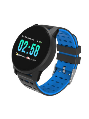 KY108 1.3' HR Smartwatch Blood Oxygen Pressure Sleep Monitor IP67 Long Standby Multi-sport Smart Watch Men Women