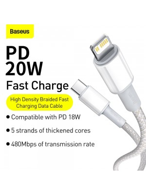 Baseus CATLGD-A02 USB Type C To Lightning Cable Power Delivery Fast Charge 20W 1m/2m