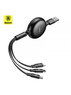 Baseus Little Octopus 3in1 Cable MicroUSB, USB-C and Lightning
