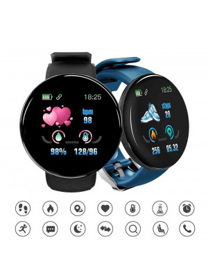D18 Smart Watch 2019 Ip67 Waterproof Heart Rate Smart Watch Men Blood Pressure Sport Smartwatch Blood Oxygen Sports Watch