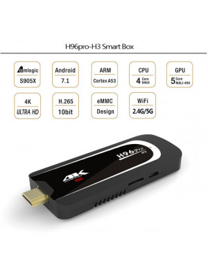 H96 Pro H3 2GB\16GB HD Android Smart 7.1.2 TV Box