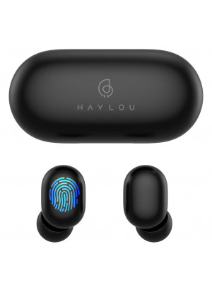 Haylou GT1 TWS Fingerprint Touch Bluetooth Earphones, HD Stereo Wireless Headphones,Noise Cancelling Headset