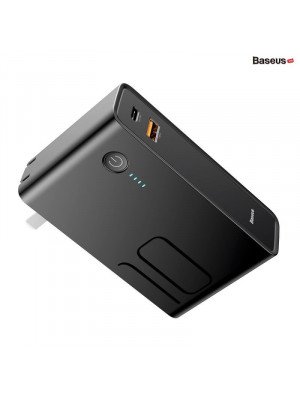 Baseus 2 in 1 Power Station Travel Charger & PowerBank 10000 mAh