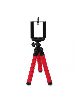 Flexible Octopus Tripod Stand Large - Red