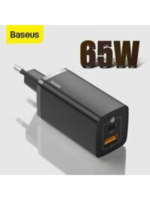 Baseus 65W GaN2 Pro lite Charger Quick Charge 4.0 3.0 PD Fast Charging for iPhone12 Xiaomi Macbook Pro Type C GaN 2 Wall Charger