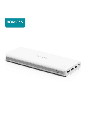ROMOSS Sense 9 Power Bank 25000mAh Powerbank 3 USB Output Portable Battery Charger External Backup Power