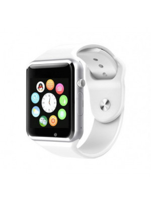 W08 Bluetooth Smart Watch With GSM & TF Card Slot – White