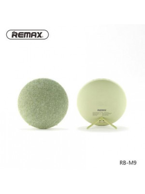 Remax RB-M9 Canvas Fabric Hi-Fi Stereo Bluetooth Speaker - Green