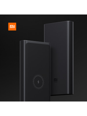 Xiaomi Mi Wireless Power bank 10000mAh Fast Wireless Charger PLM11ZM USB TypeC Qi Portable Charging Powerbank