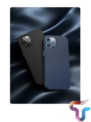 Baseus Magnetic Leather Case For iPhone 12 Pro Max Phone Cover Original For iPhone Case Full Cover Simple