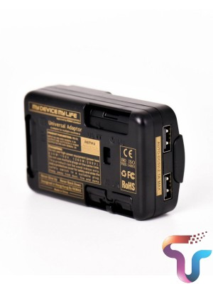 Remax RS-X1 Universal Adaptor Dual USB Travel Charger with AC Power Plug - Black