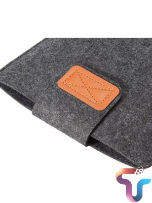 13 Inch Premium Soft Macbook Sleeve For Air/Pro/Retina And Touch - Charcoal