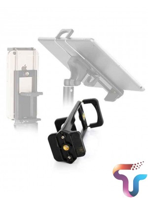 Yunteng 2 in 1 Universal Smartphone And Tablet Mount - Black
