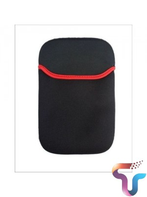 17 - inch Laptop Red Line Sleeve - Black