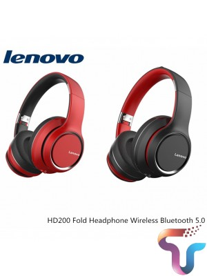 Original Lenovo HD200 Bluetooth Headset Wireless Computer Headphone BT5.0 Long Standby Life With Noise Cancelling
